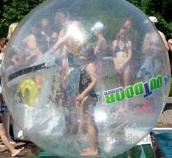 Wasserspiele mieten & vermieten - Walking-Balls / Laufball / Aqua Balls - auch zu Halloween ein Highlight in Butzbach