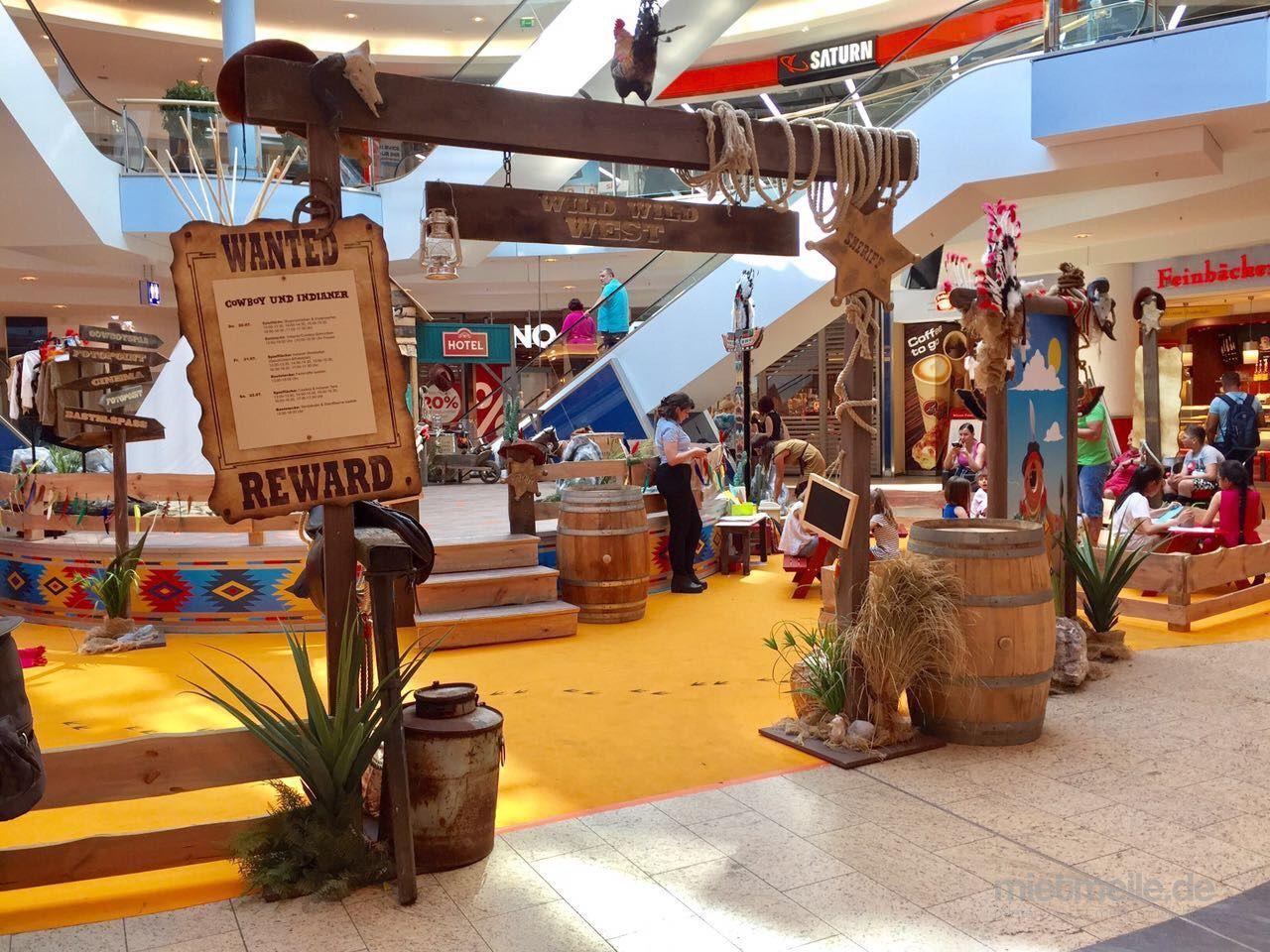 Cowboy indainer deko kulisse tipizelt wild west - Party deko berlin ...