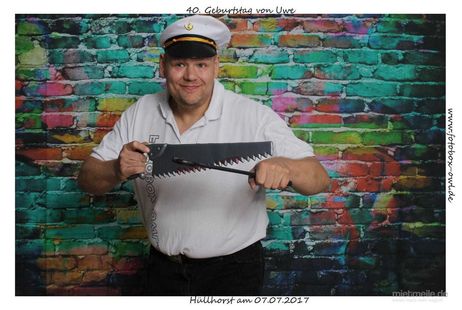 "Fotobox mieten & vermieten - Photo Booth ""Selfie-Box"" in Hüllhorst"