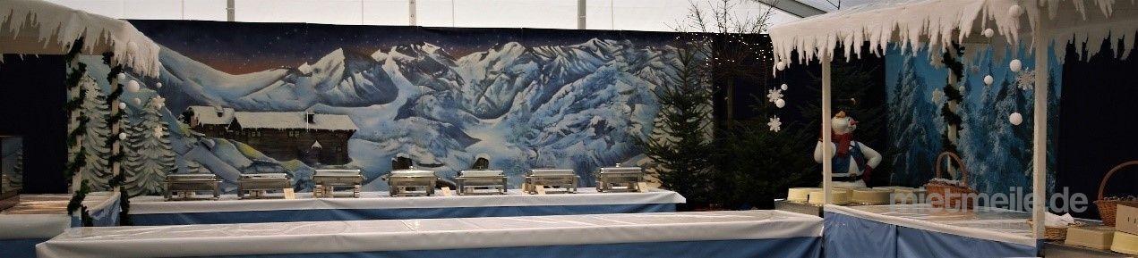 Kulissen mieten & vermieten - Winterlanschaft Kulisse - Winter, Weihnachten, Schnee, Winterdorf in Lahnstein