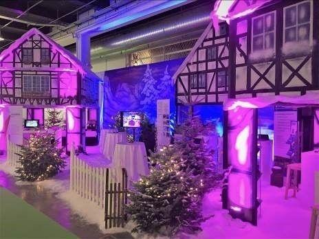 Weihnachtsdekoration mieten & vermieten - Verkaufshütten, Hütte, Verkaufsstand, Weihnachtsmarkthütte, Weihnachten, Winter, Kulisse, Weihnachtsdorf in Lahnstein