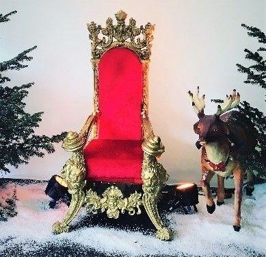 Weihnachtsdekoration mieten & vermieten - Weihnachts Thron, Weihnachten, Winter, Sessel, Stuhl in Kamp-Bornhofen