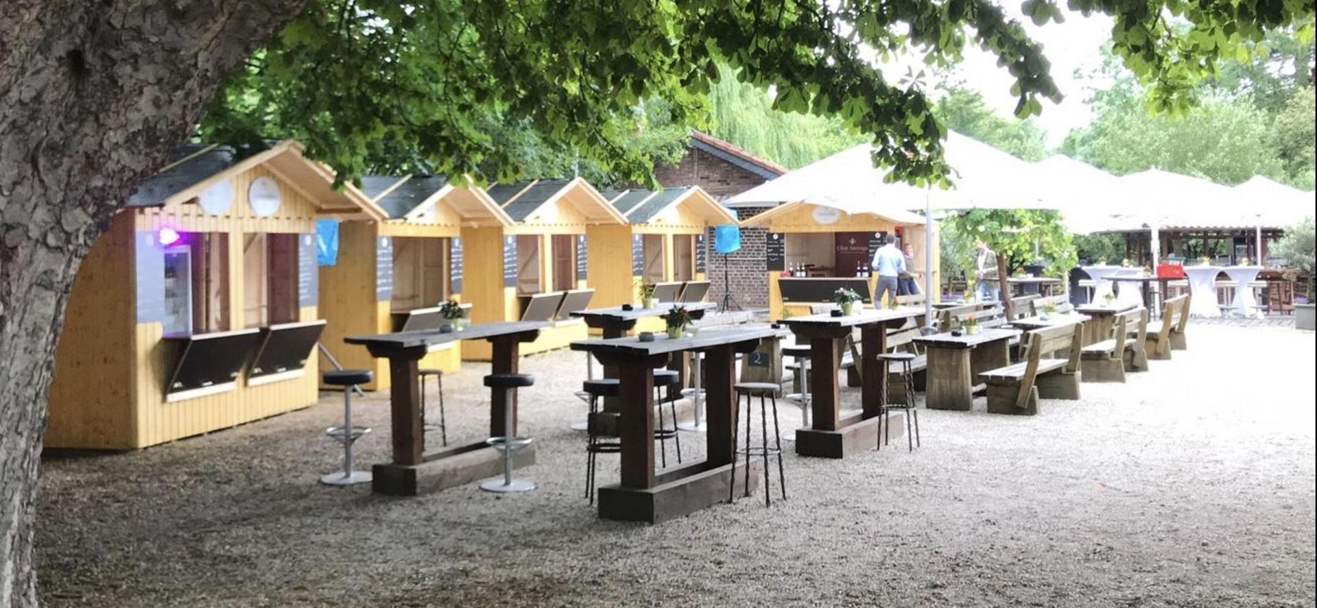 Verkaufsstand mieten & vermieten - Verkaufs-Hütten, Weihnachtsmarkt-Hütten in unterschiedlichen Größen zur Miete in Gelsenkirchen