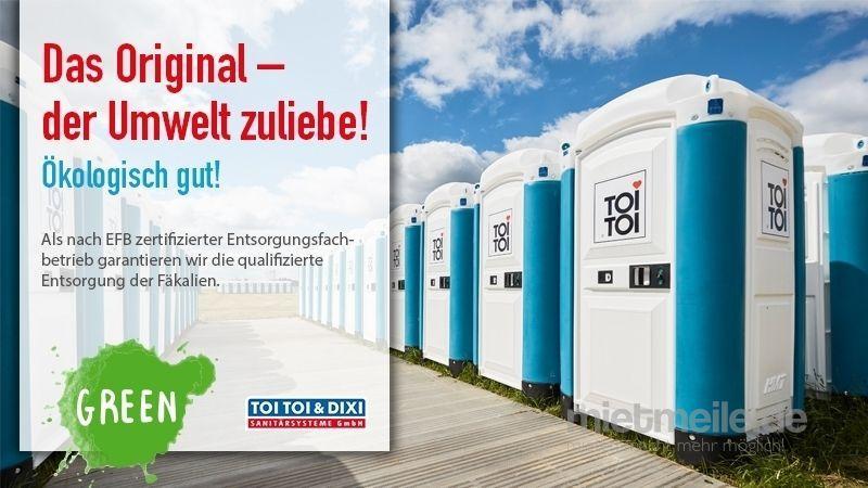 Toilettenkabine mieten & vermieten - Miettoilette, mobile Toilette, Baustellen WC, Toilettenkabine, Toilettenwagen, DIXI-Klo, das Original, Hygiene, zertifizierte Entsorgung, Endreinigung, Baustellentoilette in Heiligenhaus