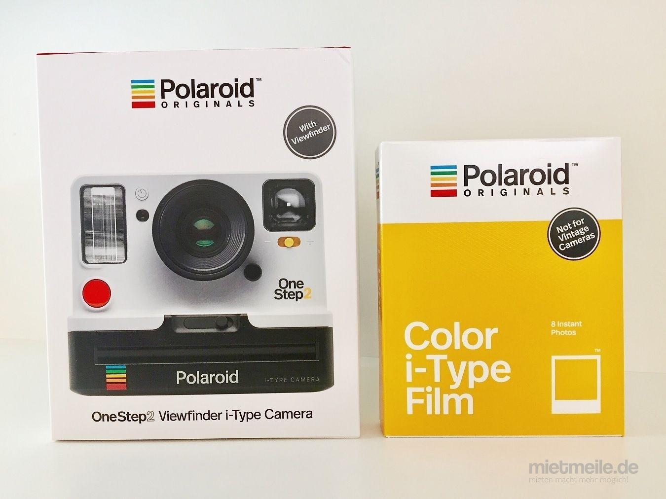 Fotokamera mieten & vermieten - Mieten Sofortbildkamera Polaroid OneStep 2 Mieten in Hamburg Eimsbüttel