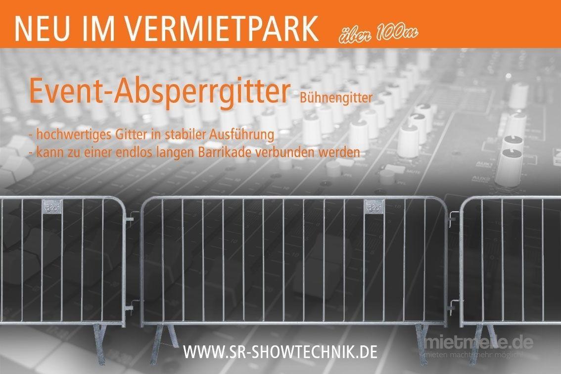 Absperrung mieten & vermieten - Event-Absperrgitter C 2 zum mieten in Neuenkirchen