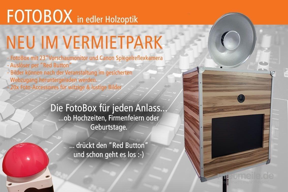 Fotobox mieten & vermieten - Fotobox / FOTOBOX mieten für Ihre Veranstaltung in Neuenkirchen