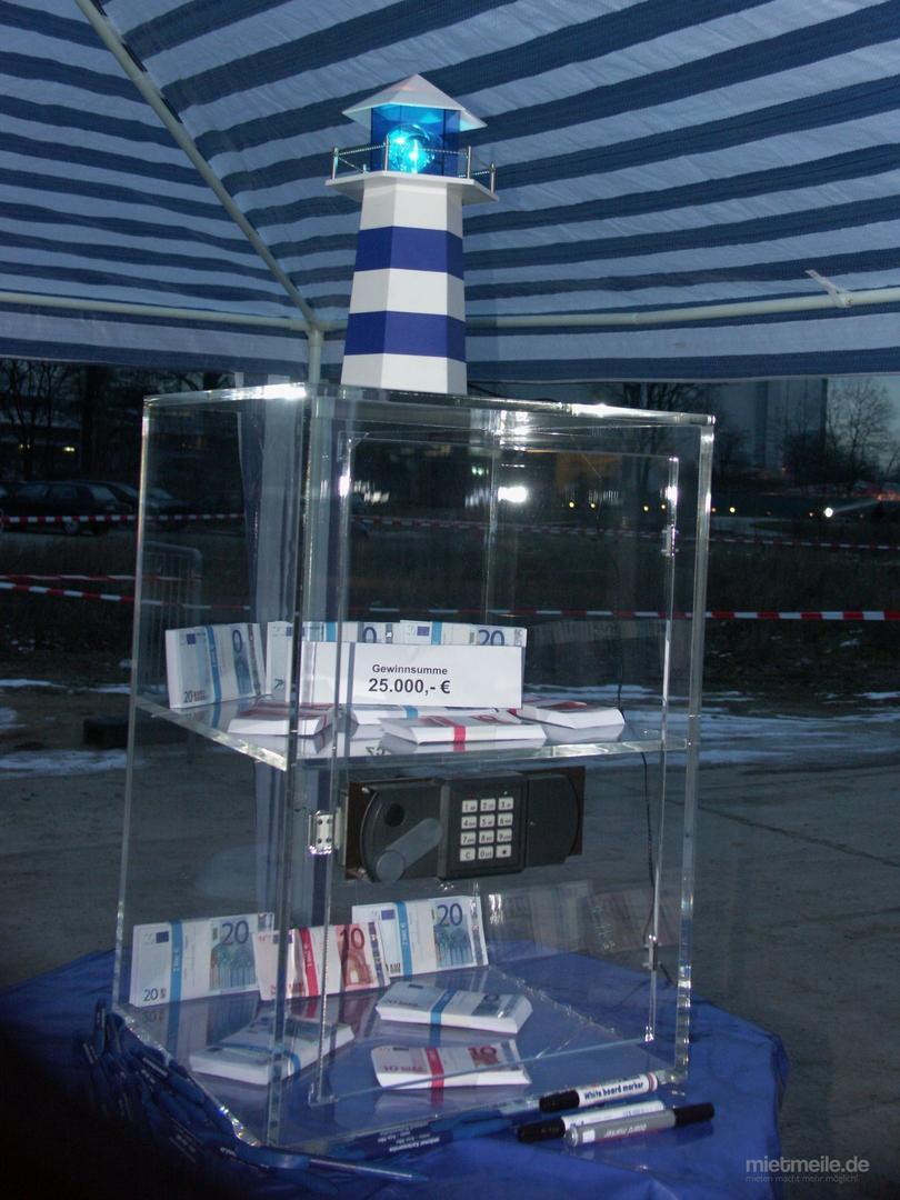 Gewinnspiele mieten & vermieten - Glastresor in Gelsenkirchen