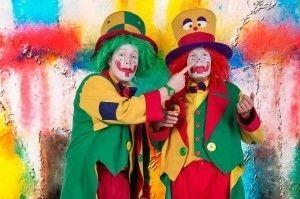 Clown mieten & vermieten - ClownsBrothers – Kinderzauberer Clown August & Clown Pippy Ein Feuerwerk an niveauvoller Comedy & bestem Entertainment für Firmenfeiern, Kinderclown, Hochzeiten in Bochum