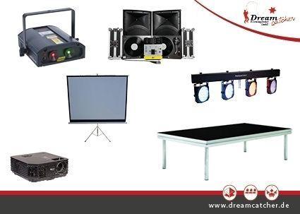 Bühnentechnik mieten & vermieten - Veranstaltungstechnik | Mietequipment in Rösrath