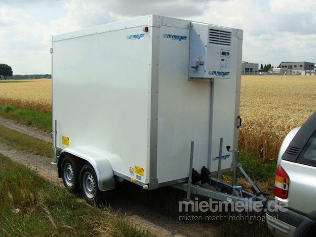 Kühlanhänger mieten & vermieten - Kühlanhänger 2700 kg doppelachser 2938 x 1546 x 2000 mm bis plus 2°C Kühlung – 100 km/h in Elsdorf (Rheinland)
