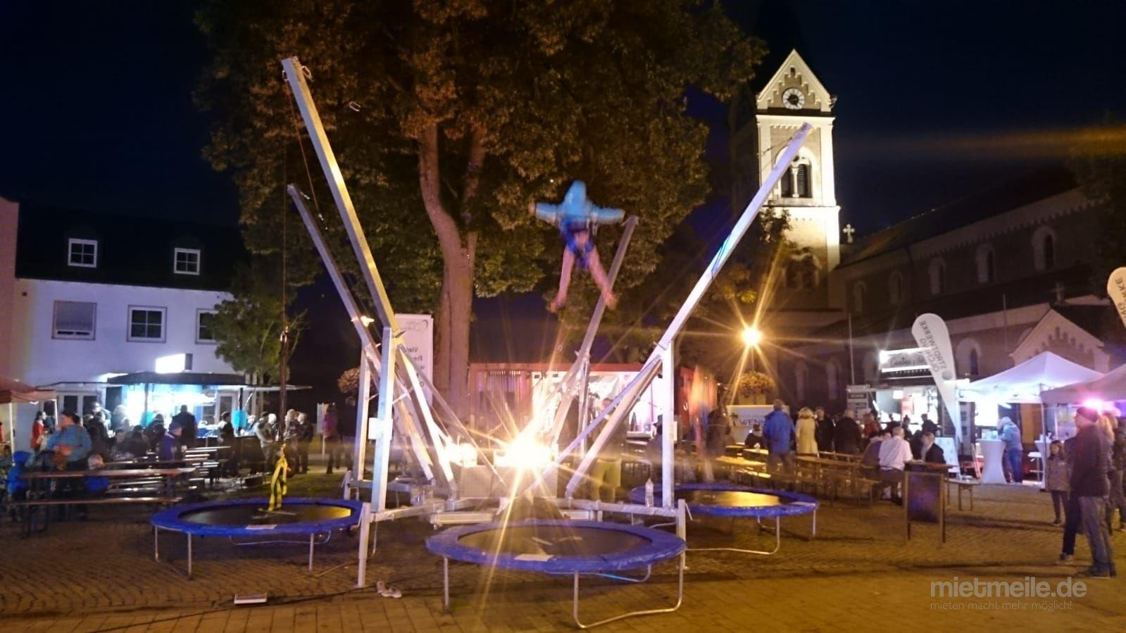 Bungee mieten & vermieten - 4er Bungeetrampolin zu vermieten in Naumburg
