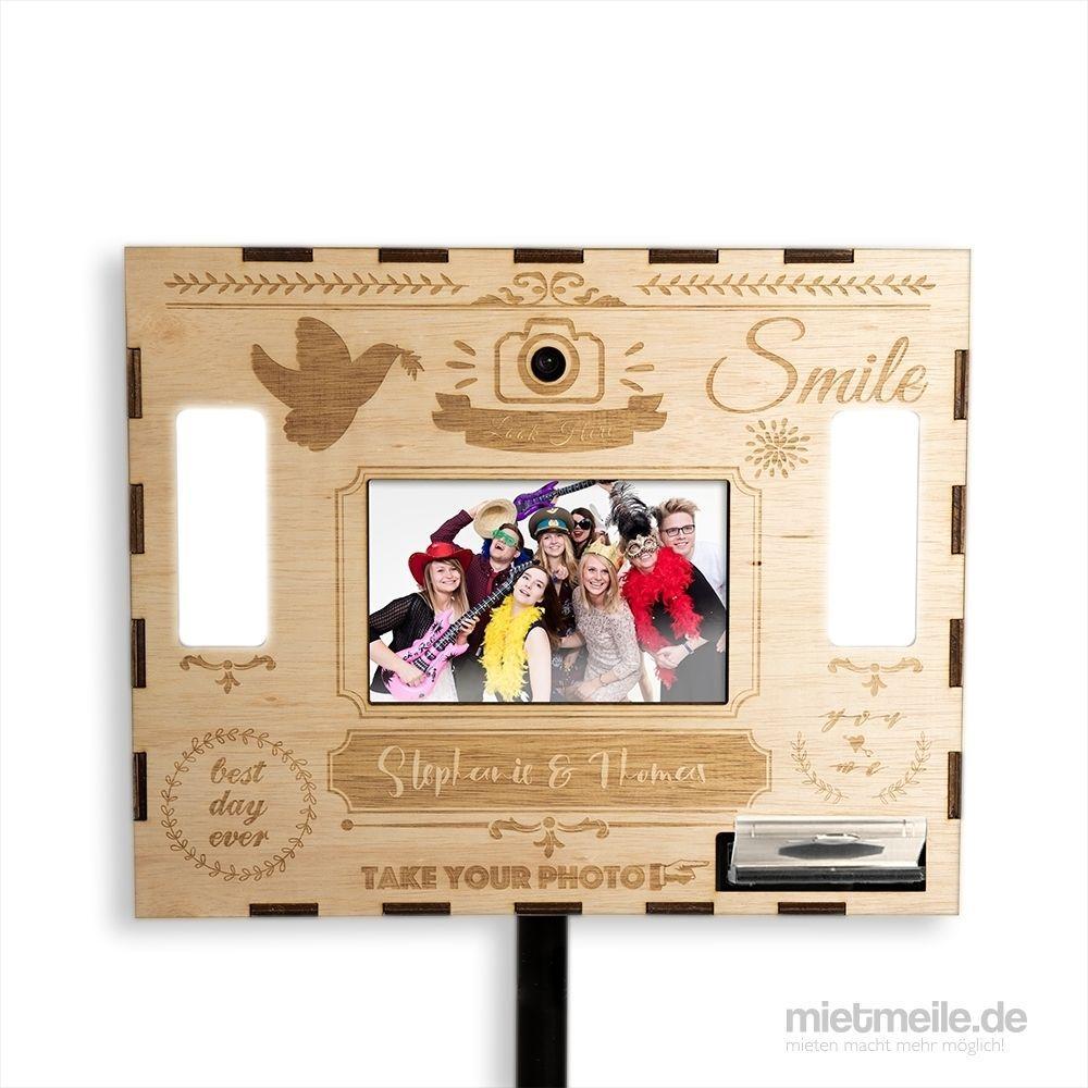 Fotobox mieten & vermieten - Fotobox inklusive Versand, Requisiten und Druck-Flatrate in Wuppertal