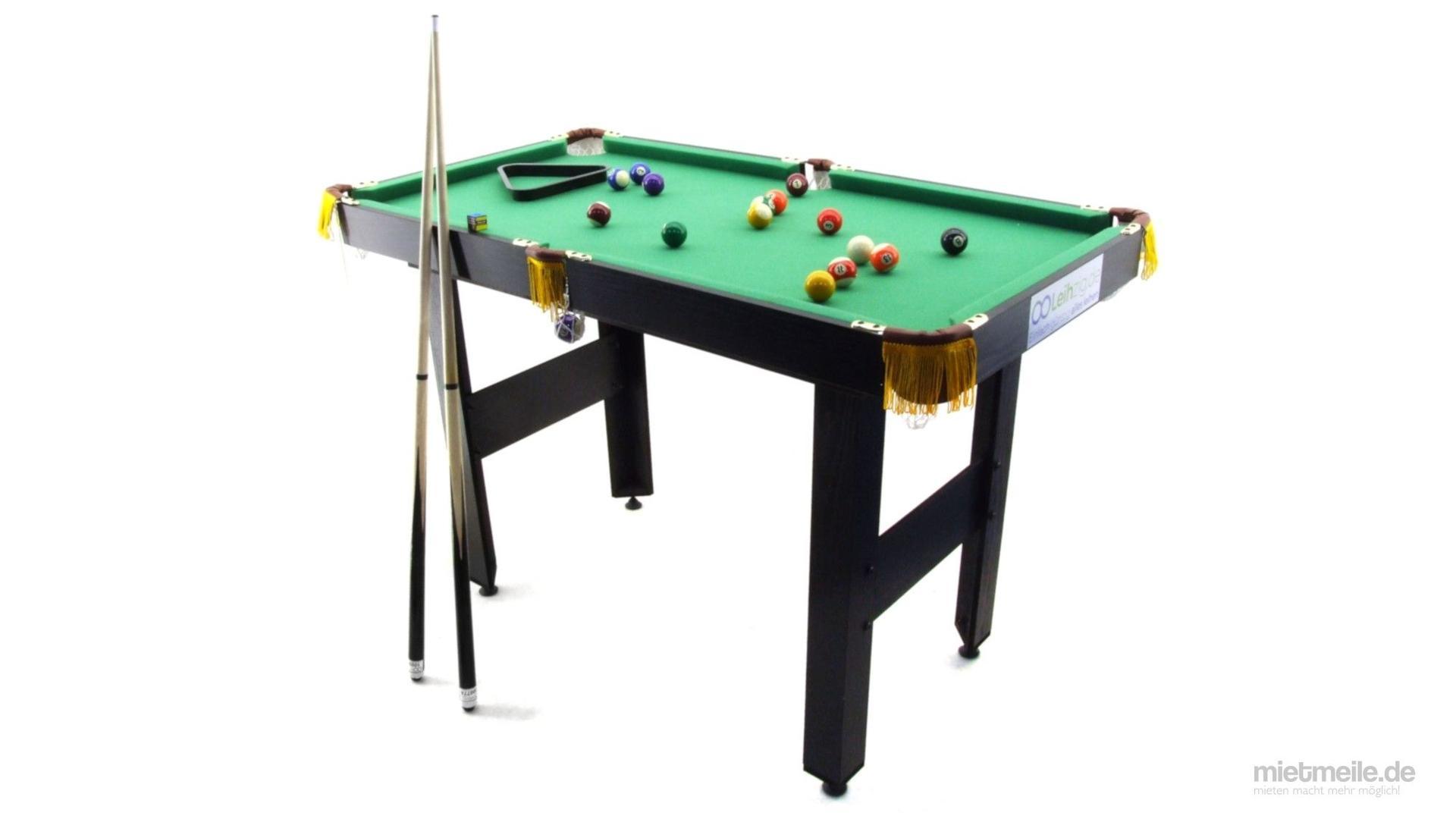 Billardtisch mieten & vermieten - Billard-Tisch Pool in Schkeuditz