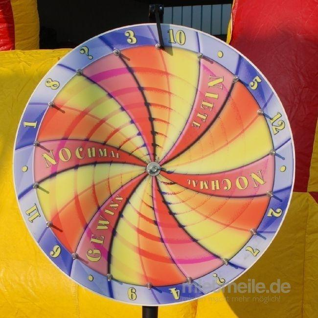 "Glücksrad mieten & vermieten - INKL.VERSAND Glücksrad, Modell ""Spirale"" inkl.Versand,Rückholung und 19% MwSt. in Münnerstadt"