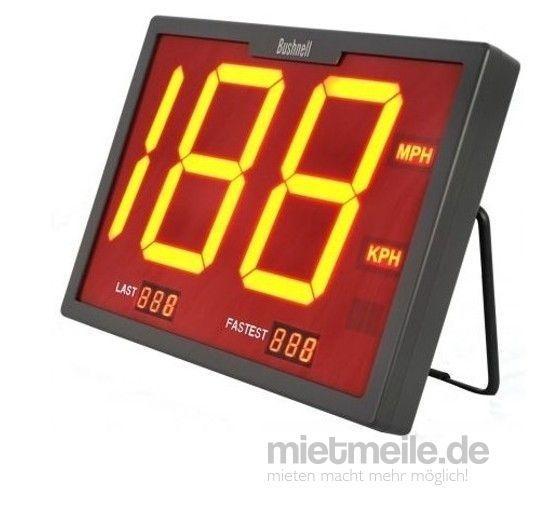 Fußball mieten & vermieten - INKL. VERSAND: Geschwindigkeitsmessgerät, SpeedOMeter, professionelles Radargerät inkl. Versand, Rückholung und 19% MwSt. in Münnerstadt