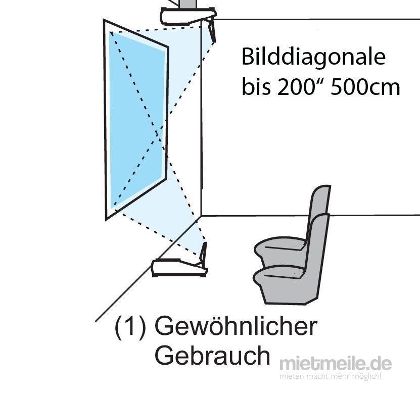 Beamer mieten & vermieten - Beamer / Projektor Ultra-Weitwinkel Hitachi in Braunschweig