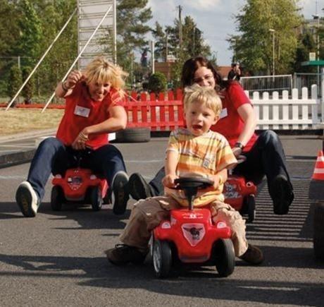 Parcours mieten & vermieten - Bobby Car Rennen inkl.19% MwSt. in Münnerstadt