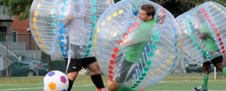Fußball mieten & vermieten - Bumper Balls, inkl. Versand und Rückholung, inkl. 19% MwSt. in Münnerstadt