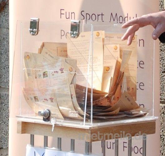 Gewinnspiele mieten & vermieten - Losbox, klein inkl.19%MwSt. in Münnerstadt