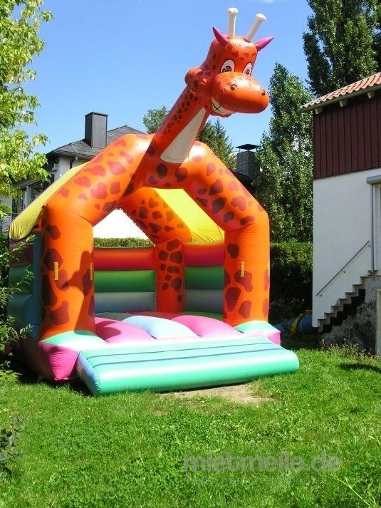 Hüpfburg mieten & vermieten - Giraffen Hüpfburg in Eibelstadt