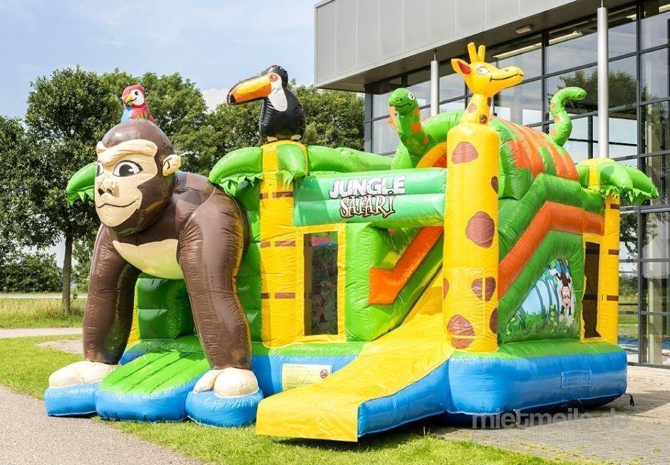 Hüpfburg mieten & vermieten - Hüpfburg Multiplay Jungle Safari 5,0x4,5x3,5 (LxBxH) Geburtstag,Party,Feier,Event in Celle