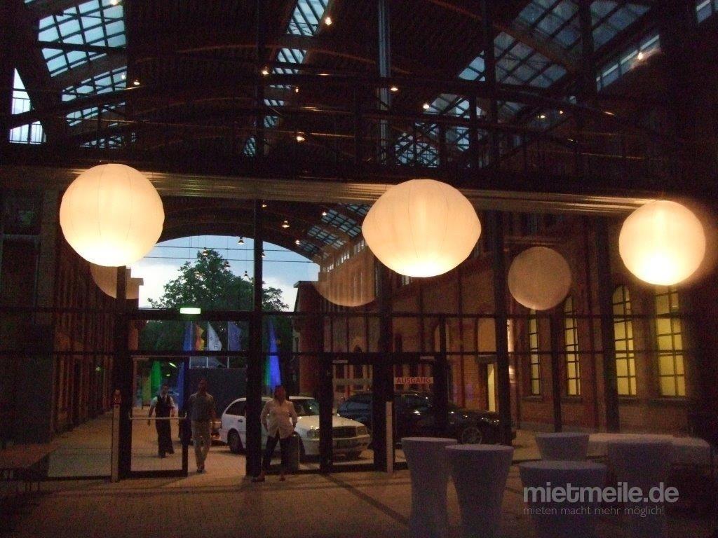 Leuchten & Lampen mieten & vermieten - Leuchtkugeln Airglobe in Eibelstadt