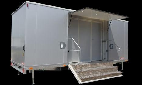 Toilettenwagen mieten & vermieten - VIP WC WAGEN, der Wagen der Extraklasse in Niederstetten