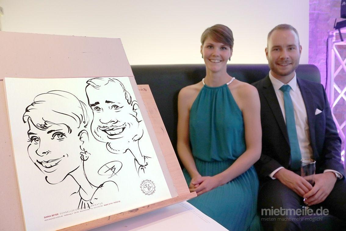 Schnellzeichner mieten & vermieten - Karikatur & Schnellzeichnung - VOM FOTO!!! ONLINE in Braunschweig