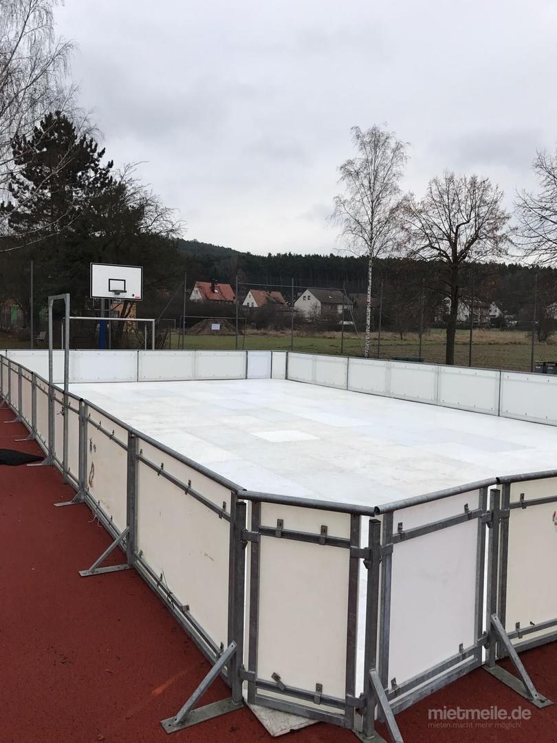 weitere Eventmodule mieten & vermieten - 150 qm Eislaufbahn, Kunsteisbahn, Kunststoffeisbahn, mobile Eisbahn mieten in Neukirchen-Vluyn