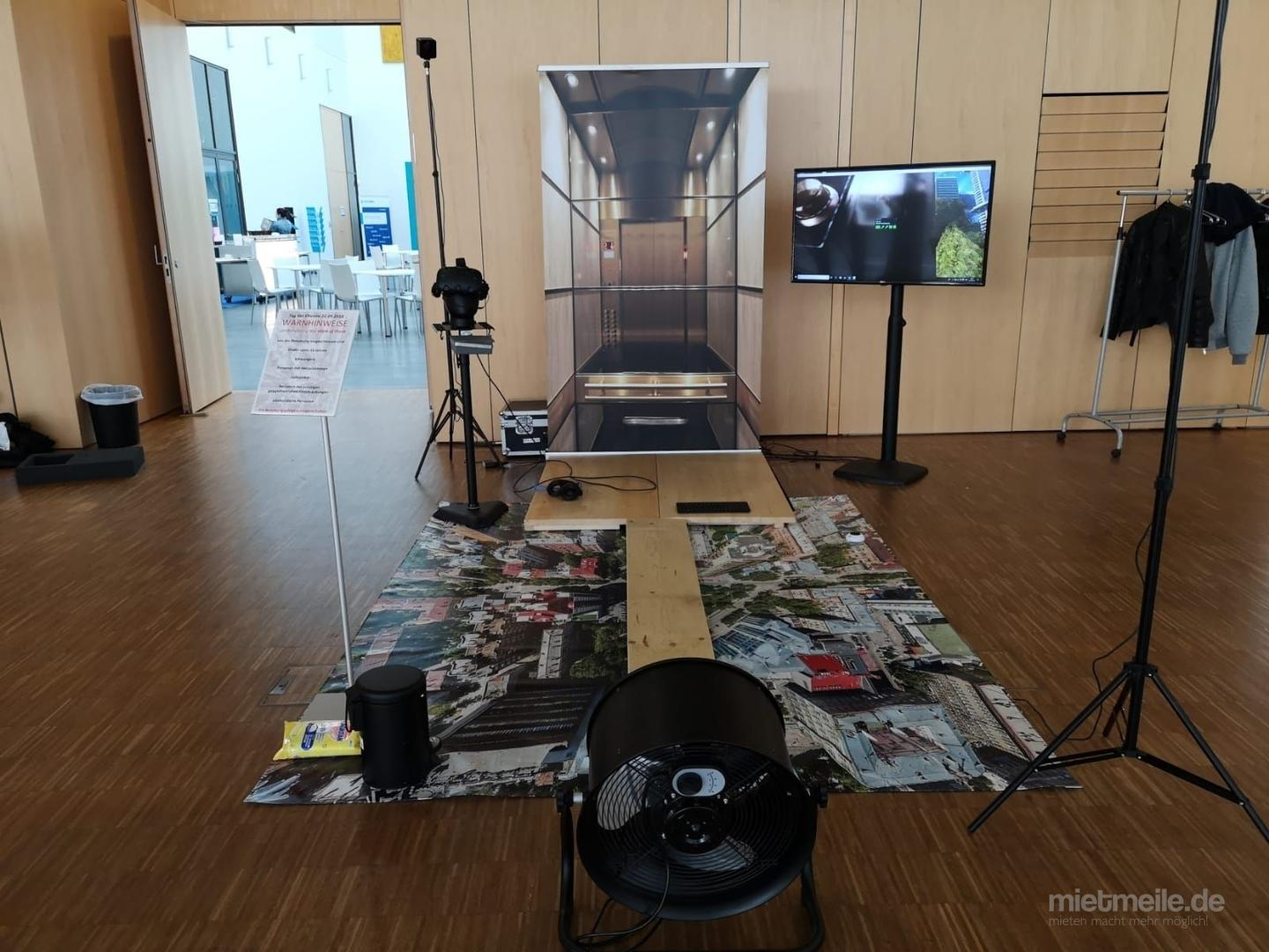 weitere Eventmodule mieten & vermieten - Virtual Reality Walk the Plank / Plank Experience in Neukirchen-Vluyn