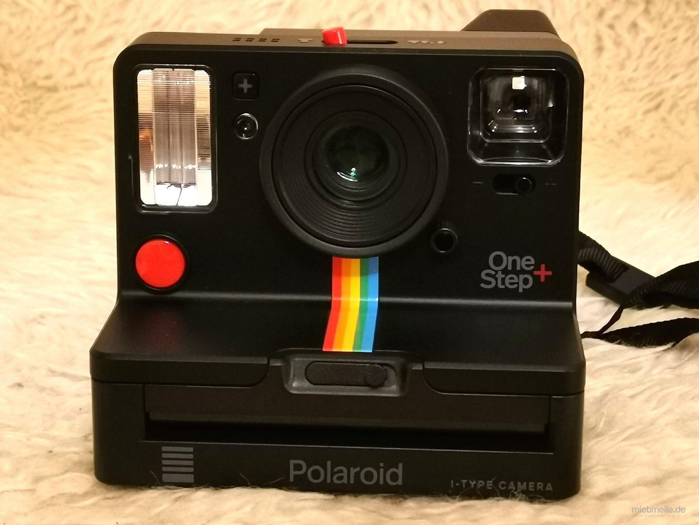 Fotokamera mieten & vermieten - Polaroid Sofortbildkamera One Step+ in Hamburg