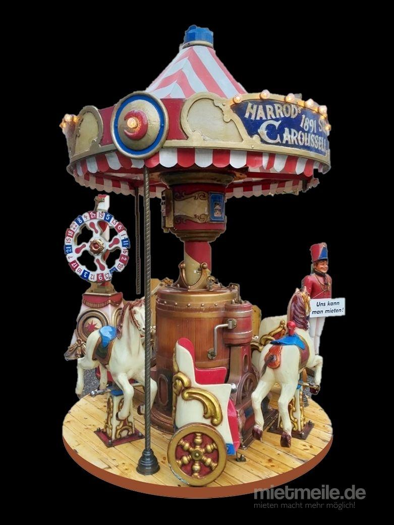 Karussell mieten & vermieten - Nostalgie Pferde-Karussell in Nürnberg