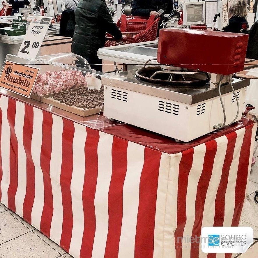 Catering mieten & vermieten - Mandelrösterei - gebrannten Mandeln - Mobil in Glauchau