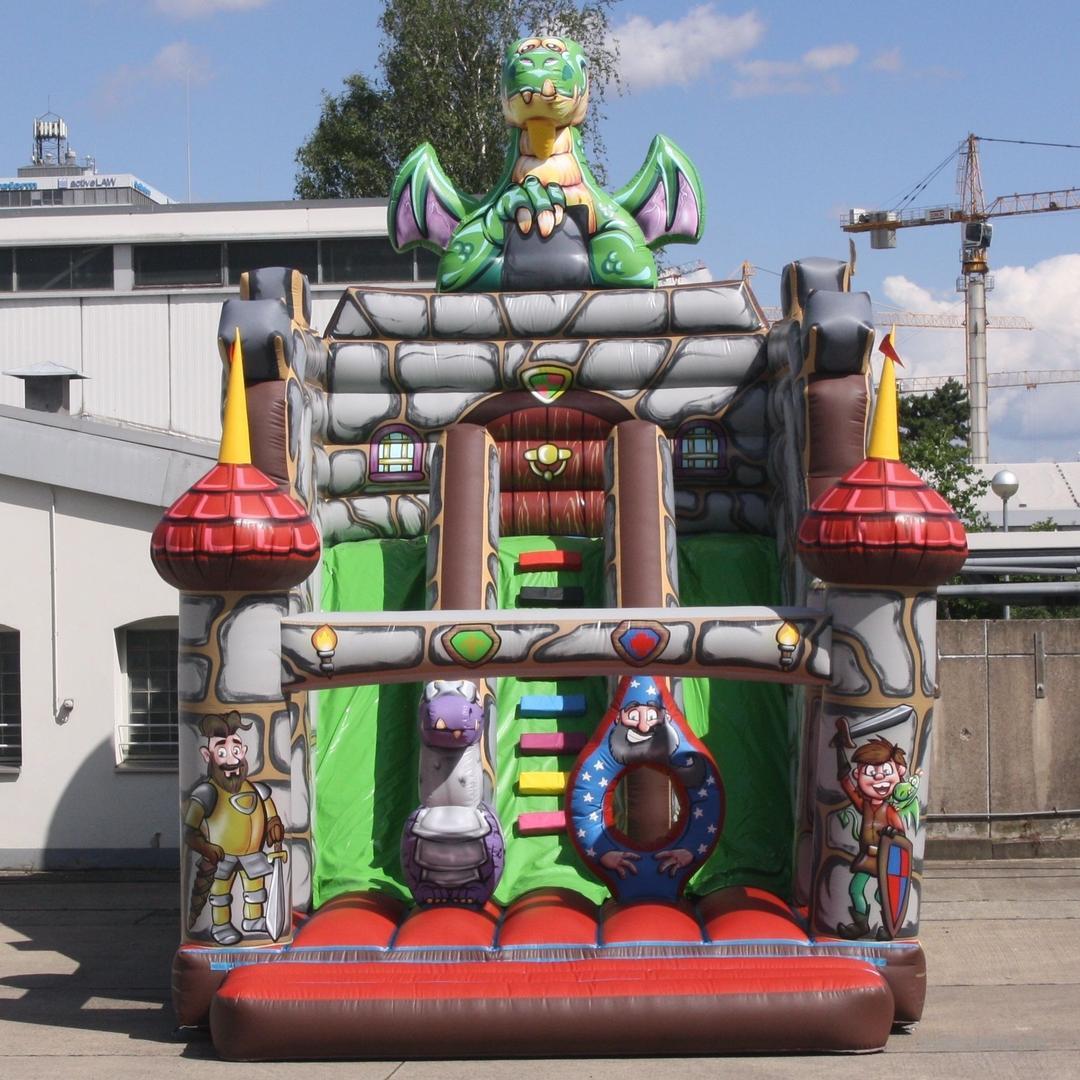 Hüpfburg mieten & vermieten - Hüpfburg Drachenrutsche in Hannover