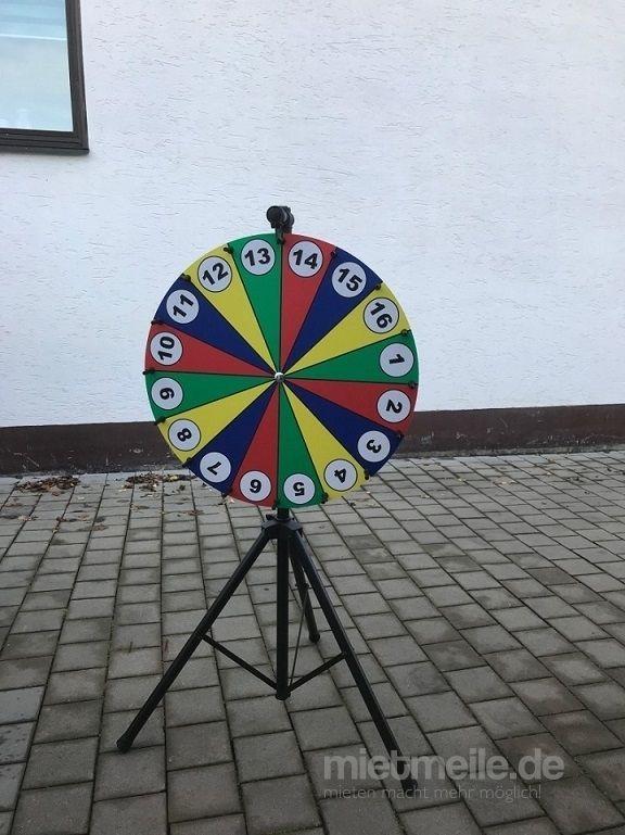 Glücksrad mieten & vermieten - Profi-Glücksrad 80 cm in Oberasbach
