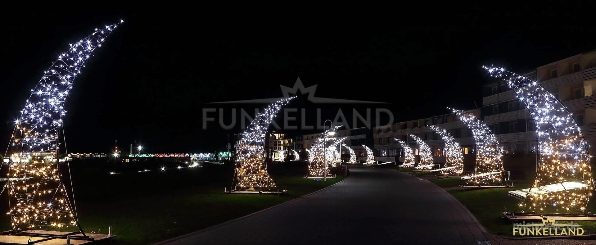 Saisonale Dekoration mieten & vermieten - FUNKELLAND - Illuminationslandschaften & Kunstinszenierungen in Lichtenstein/Sachsen