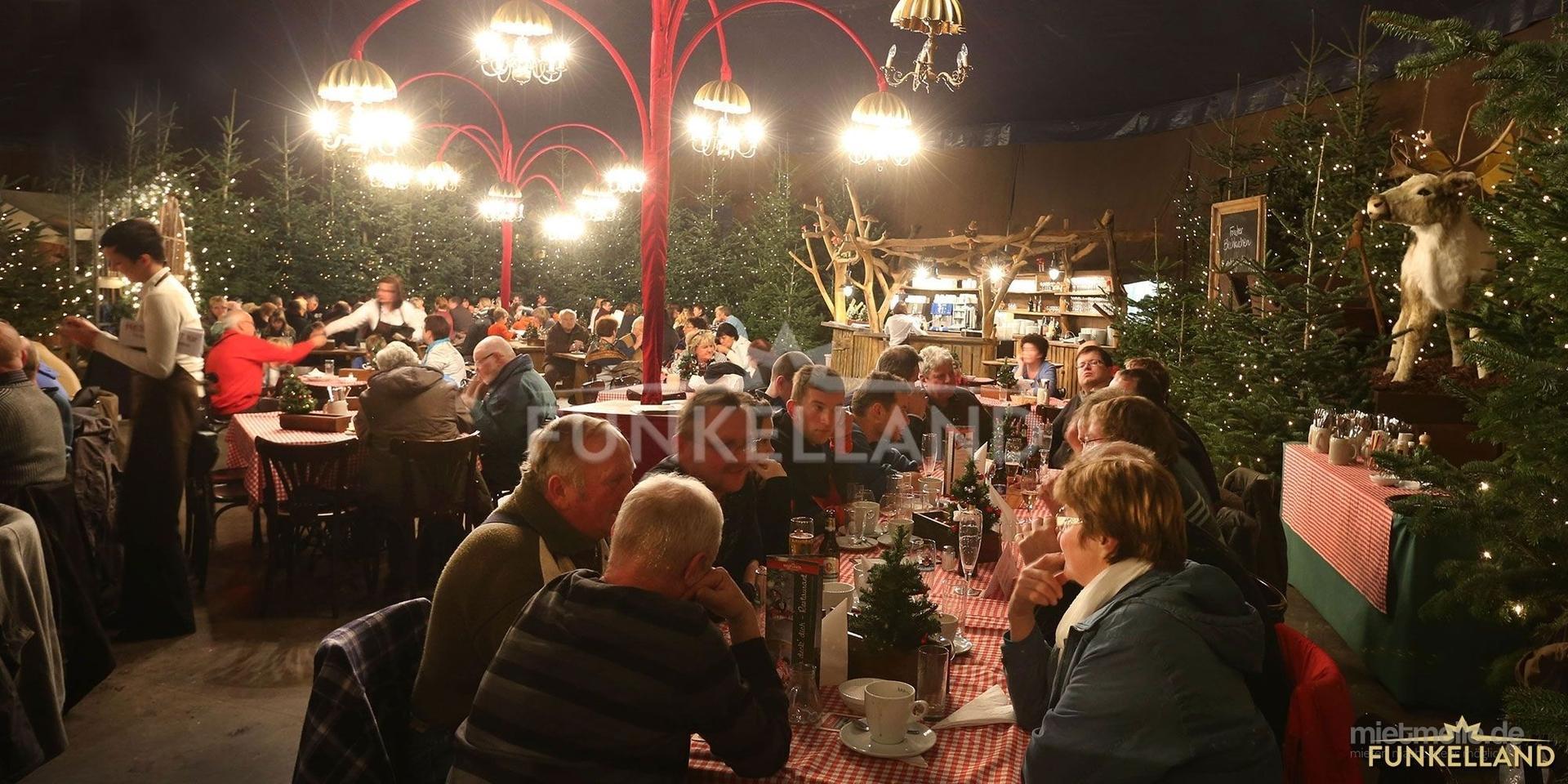 Saisonale Dekoration mieten & vermieten - Der FUNKELWALD - ein verzauberter Märchenwald im FUNKELLAND in Lichtenstein/Sachsen