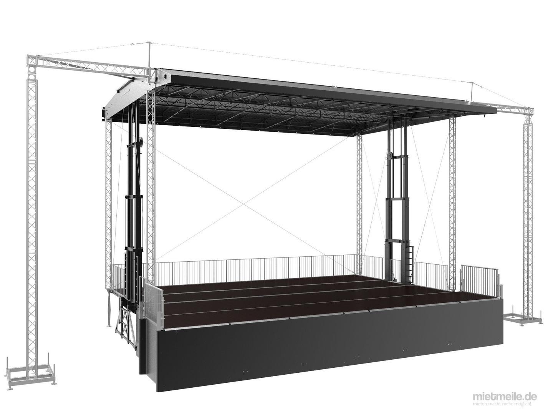 Bühne mieten & vermieten - Smart STAGE 120 in Waldshut-Tiengen