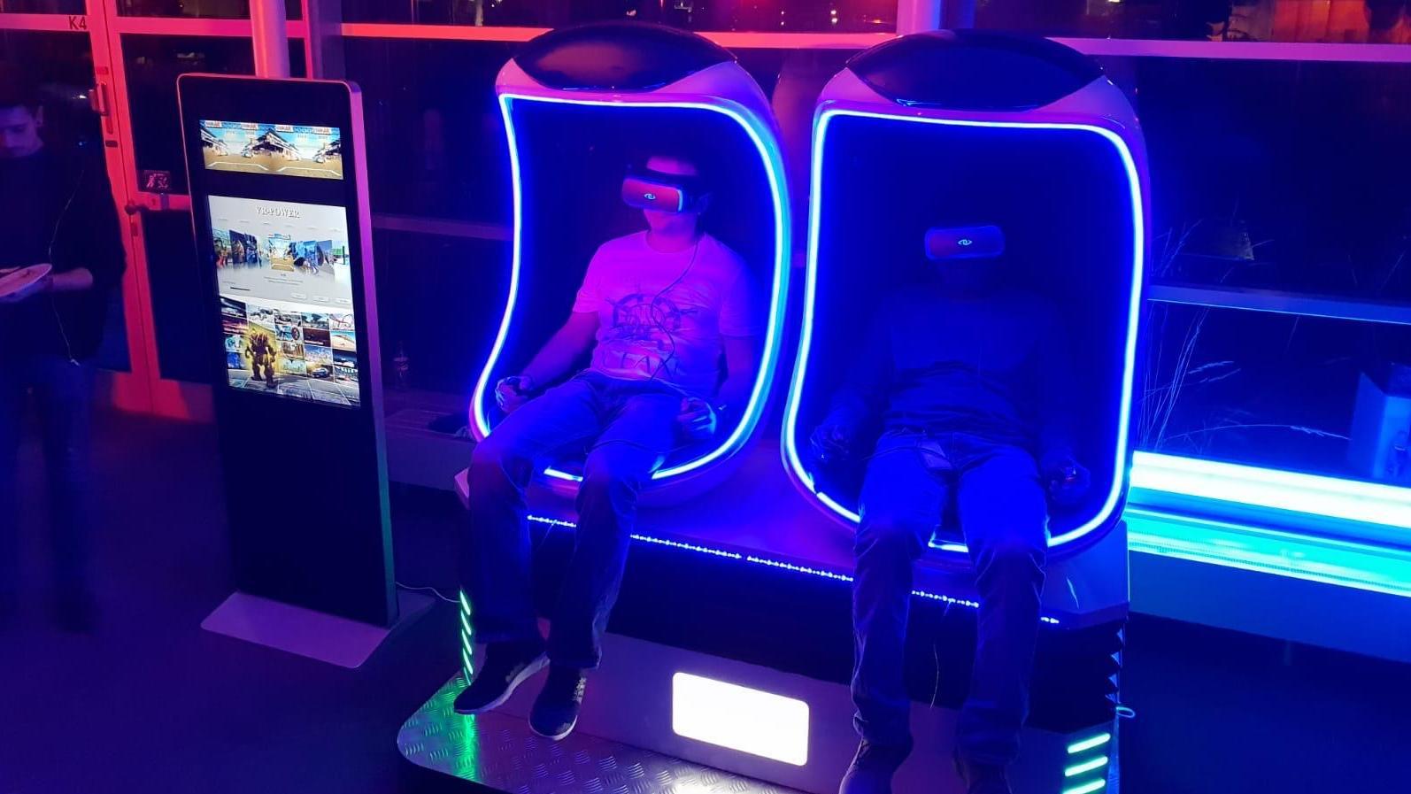 Simulatoren mieten & vermieten - Virtual Reality VR Simulator 9D Simulator in Ockenheim