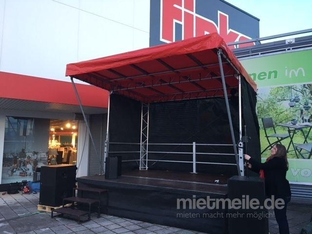 Bühne mieten & vermieten - Mobile Bühne 14m² - Multistage für Stadtfest, Events, Festivals & Konzert (auch als FOH) in Nürnberg
