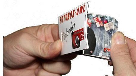 Fotobox mieten & vermieten - Daumenkino / Flipbooks in Hüllhorst