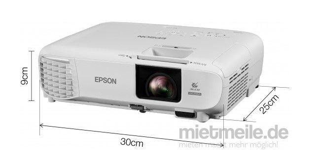 Beamer mieten & vermieten - Full-HD Videoprojektor Beamer / Epson EB-U05 mit 3400 Ansi-Lumen in Hilzingen
