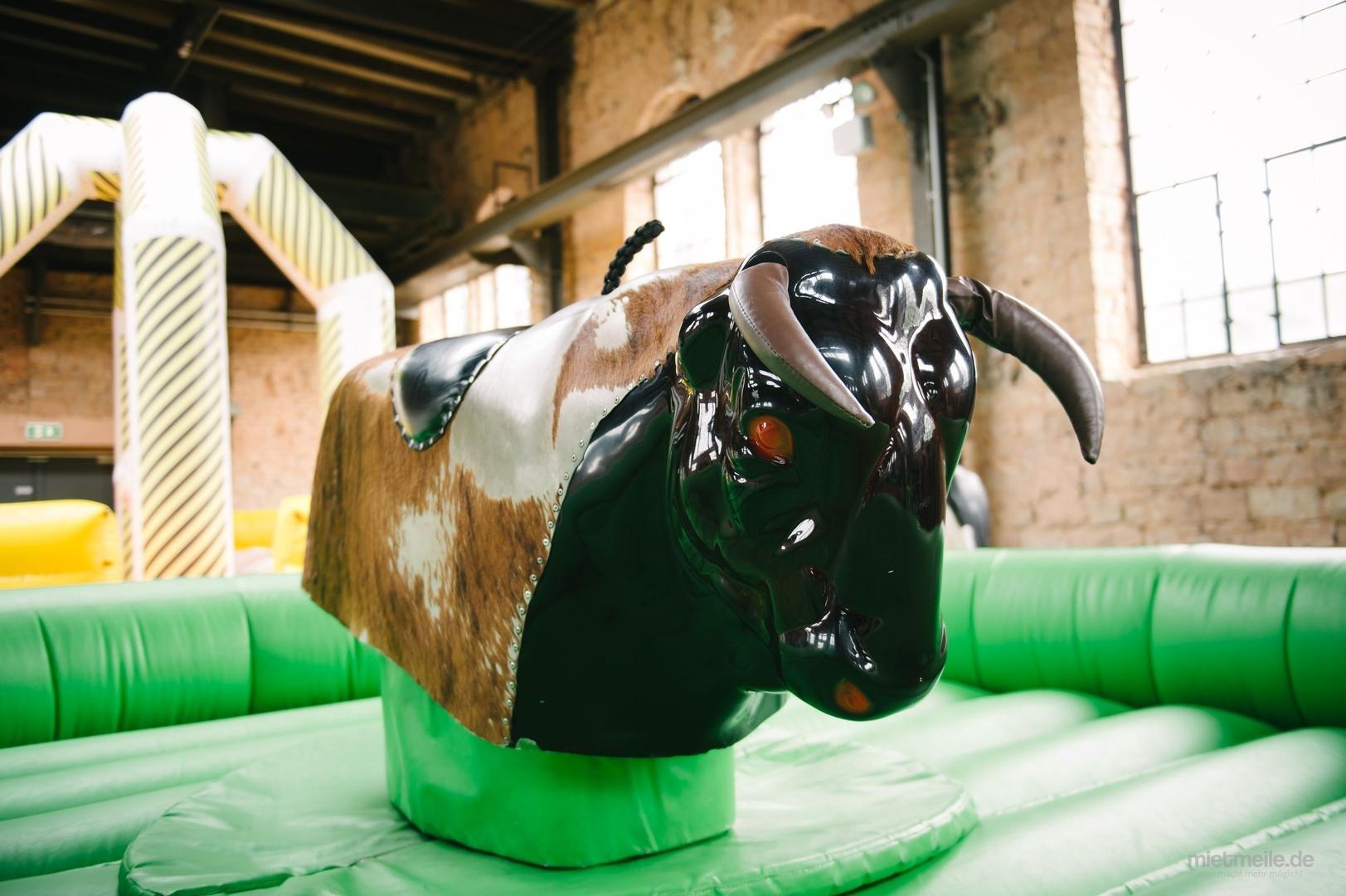 Bullriding mieten & vermieten - Bull Riding, Rodeo Reiten, Surfing Simulator, Flaschen Reiten, Rentier Reiten in Sankt Ingbert
