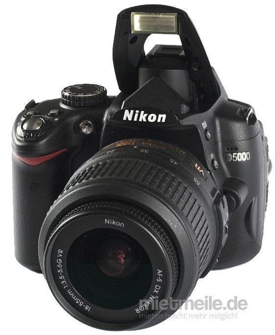 Fotokamera mieten & vermieten - Nikon Digitale Spiegelreflexkamera mit 2 Objekiven und viel Zubehör in Braunschweig