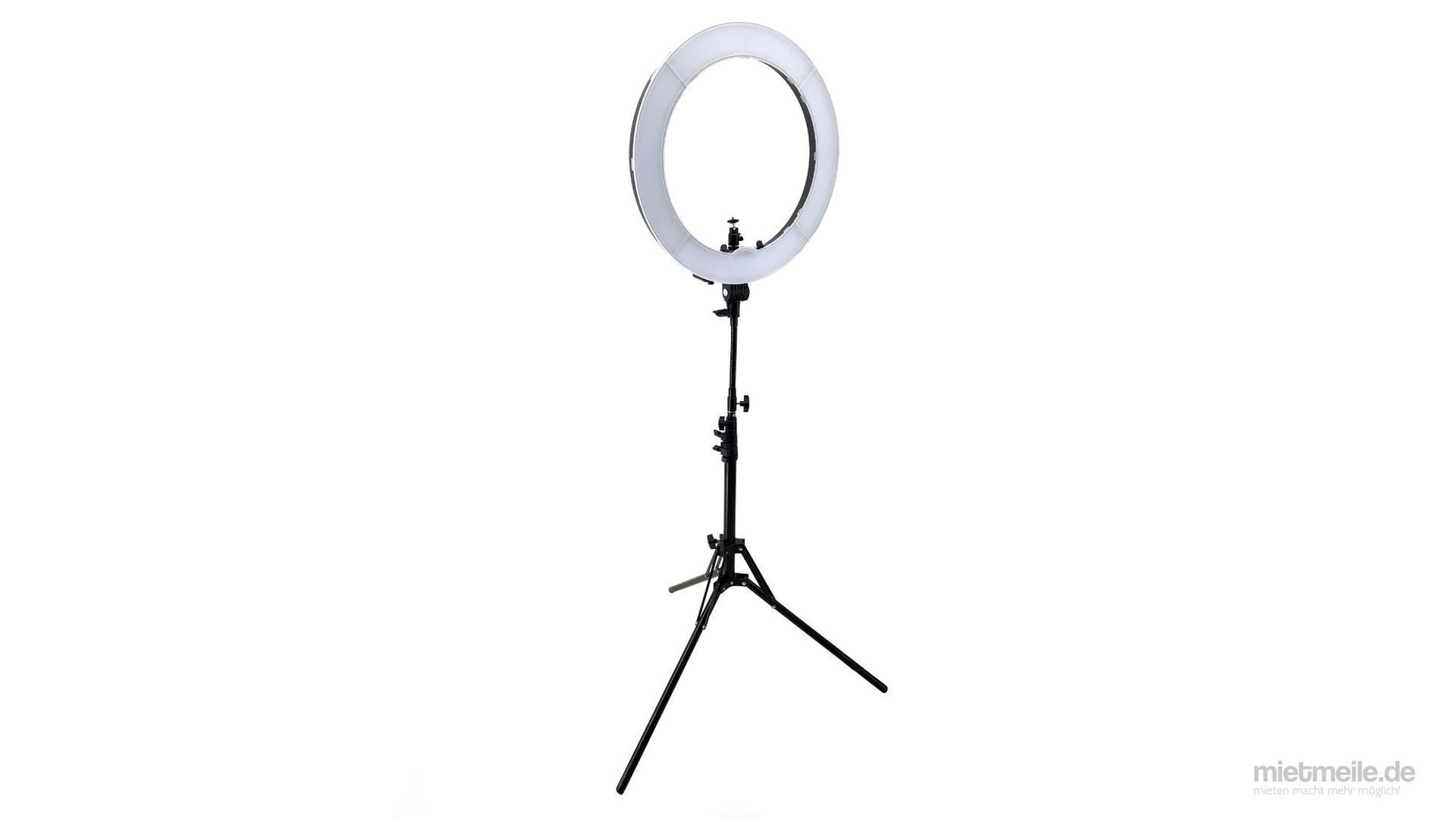Kamerazubehör mieten & vermieten - Ringlicht Ringleuchte LED Studiolicht in Schkeuditz