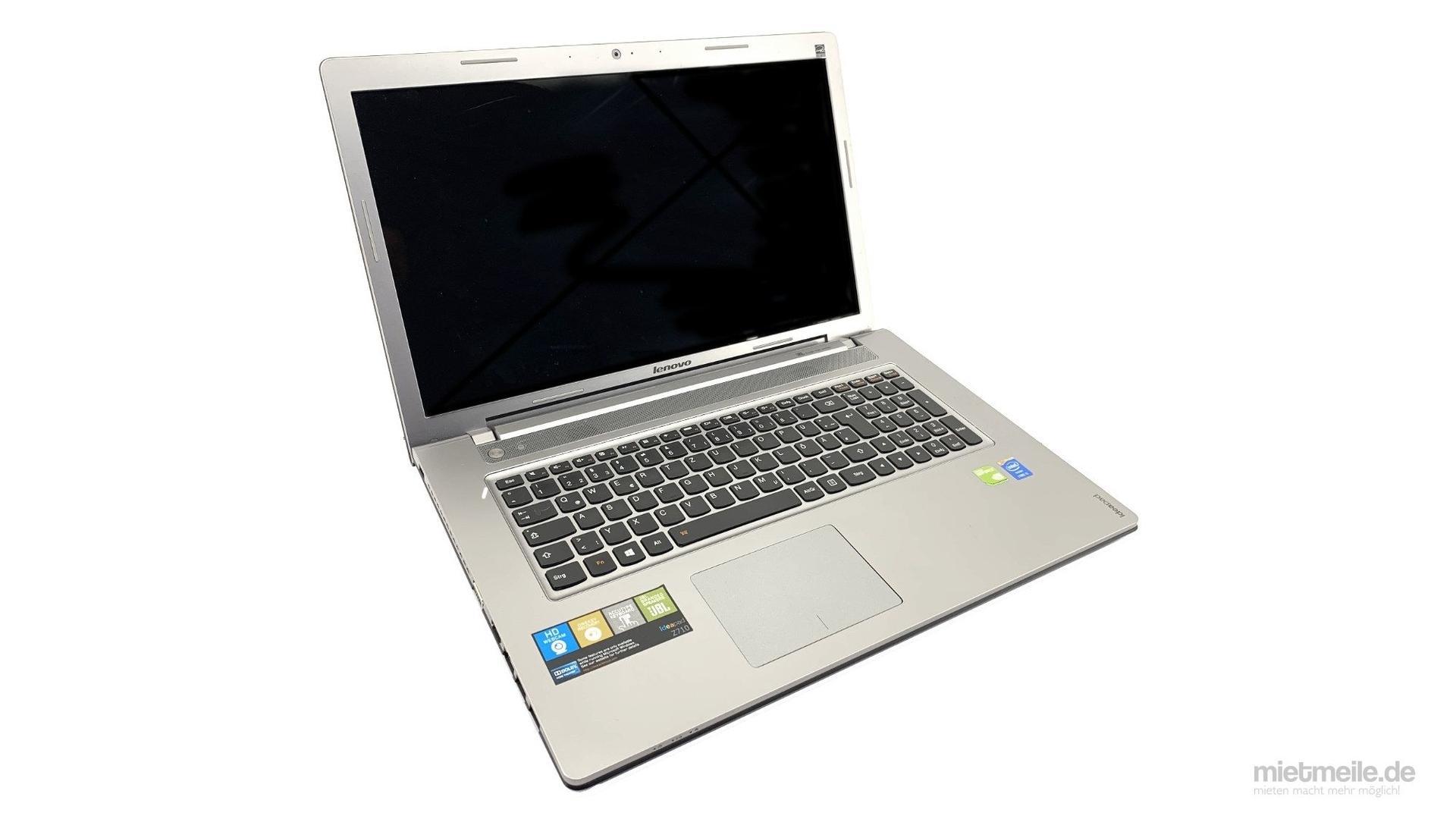 """Laptop mieten & vermieten - Laptop Notebook Lenovo 17.3"""" IdeaPad Office-PC in Schkeuditz"""