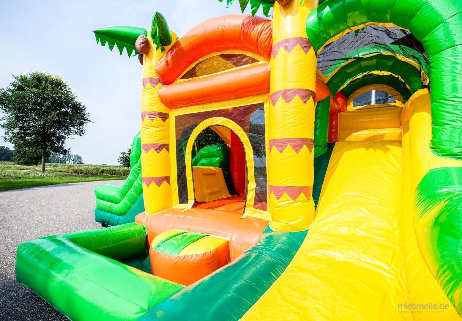 Hüpfburg mieten & vermieten - Hüpfburg Jumpy Fun Dschungel in Ludwigshafen am Rhein