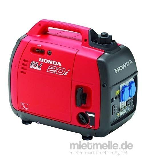 Stromgenerator mieten & vermieten - Honda Benzin Stromerzeuger sehr leise in Crossen an der Elster