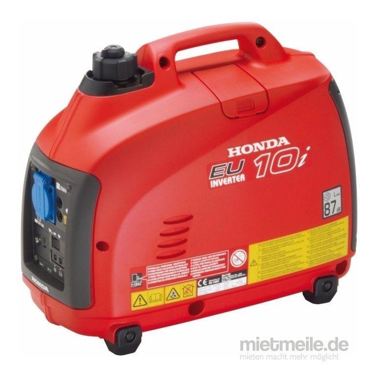 Stromgenerator mieten & vermieten - Honda EU 10i sehr leise in Crossen an der Elster
